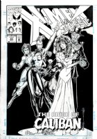 MADUREIRA, JOE - X-Men Classic #83 cover, Wolverine, Rogue and Storm stop Kitty's wedding  Comic Art