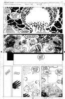 ROMITA JR, JOHN / SCOTT WILLIAMS + - Uncanny X-Men #287 pg 29, X-Men capture Bishop, 1992 Comic Art