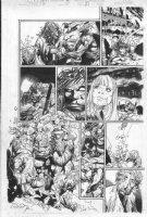 BACHALO, CHRIS - Gen Next #3 - AOA series within Gen X - Mondo Stern Husk Skin Comic Art