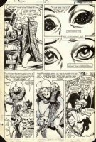 COCKRUM, DAVE - Uncanny X-Men #163 pg 6, Wolverine POV story, Carols Danvers has Binary powers Comic Art