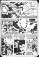 COCKRUM, DAVE - Uncanny X-Men #164 pg 3, Wolvie & X-Team in space Comic Art