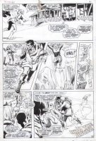 ADAMS, NEAL - Uncanny X-Men #61 last pg 20 X-Team & death of Karl / Sauron Comic Art