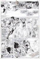 ADAMS, NEAL - Uncanny X-Men #61 last pg 20 X-Team & death of Karl / Sauron Comic Art