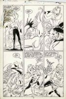 GUICE, JACKSON - Uncanny X-Men #216 pg 20, Storm vs Crimson Commando Comic Art