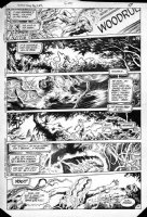 BISSETTE, STEVE & JOHN TOTLEBEN - Swamp Thing #23 pg 14,  3rd Issue of team ! - Swampy reaction to origin, Abby Comic Art