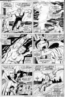 TUSKA, GEORGE & BILL EVERETT - Ironman #54 pg 7 Comic Art