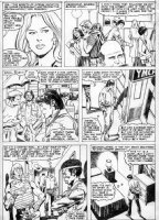 BUSCEMA, JOHN - Rampaging Hulk #23 page 7 controvercial gay rape at the YMCA issue Comic Art