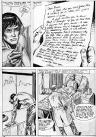 BUSCEMA, JOHN - Rampaging Hulk #23 page 38 controvercial gay rape at the YMCA issue Comic Art