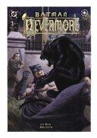 WRIGHTSON, BERNI - Batman: Nevermore #2 painted cover, Batman & Edgar Allen Poe  Comic Art