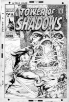 WRIGHTSON, BERNI - 1st Kull cover - Tower Of Shadows #10, changed to Creatures on the Loose #10 Comic Art