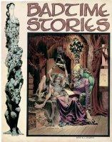 WRIGHTSON, BERNI - Badtime Stories #1 Ink & painted cover, Berni' grail masterpiece. EC style horror. Large - 15-1/2 Comic Art