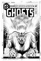 KUBERT, JOE - GHOST #111 cover,  The Burton Method  Comic Art