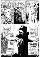 KUBERT, JOE - Star Spangled War Stories #151 splashy last pg 14, origin & 1st Unknown Soldier, 1971 Comic Art