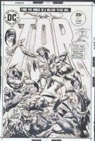 KUBERT, JOE - Tor #1 cover art, revival of Joe's 50's hero, 1975 Comic Art