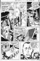 KUBERT, JOE - Star Spangled War Stories #156 pg 6, 6th Unknown Soldier, dressed as Hitler Comic Art