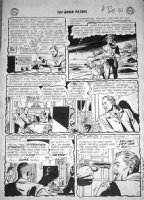 PREMIANI, BRUNO - Doom Patrol #88 2-up pg 10, 3rd issue, Chief / Niles Caulder Origin Story, General Immortus as Baron Comic Art