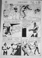 SPARLING, JACK - House of Secrets #74 2-up pg 5, rare Eclipso art Comic Art