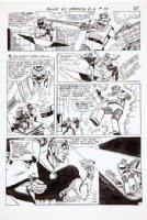 BAILY, BERNARD (creator of Spectre) - House Of Secrets #79 2-up pg 23, rare Eclipso teaming up w/ Prince Ra-Man Comic Art