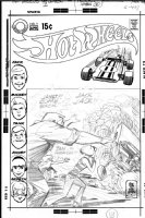 TOTH, ALEX - Hot Wheels #1 uninked cover pencils Comic Art