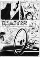TOTH, ALEX - Hot Wheels #2 pg 3 - splash & credit page Comic Art