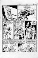 FINE, LOU / WILL EISNER Studio - Spirit Sunday last page, 1/28 1945 - Spirit nabs Diamond Dolly (Joe Sinnott collection) Comic Art