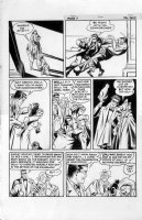 EISNER, WILL / LOU FINE - Spirit Sunday last page, 1/28 1945 - Spirit nabs Diamond Dolly (from Joe Sinnott collection) Comic Art
