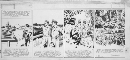 RAYMOND, ALEX - Jungle Jim Sunday 6-20-37  Comic Art