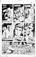 WILLIAMSON, AL finishes - Spider-Man vs Wolverine #1 page 14 Black costume, Comic Art