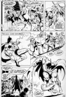 GARCIA LOPEZ, JOSE LUIS - World's Finest #258 page 3, Batman captures unicorn woman Comic Art
