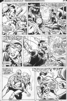 MOONEY, JIM - Marvel Team-up #72 page 27, Spiderman, Ironman Comic Art