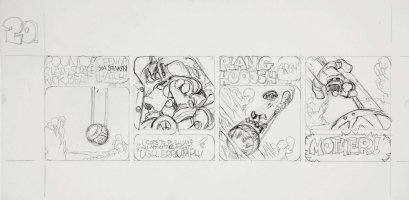 BODE, VAUGHN - Sunspot daily #20 pencil art  Comic Art