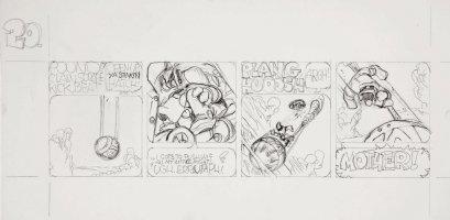 BODE, VAUGHN - Sunspot daily #20 pencil art  Comic Art
