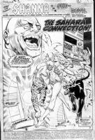 ANDRU, ROSS - Shanna, the She-Devil #2 story Comic Art