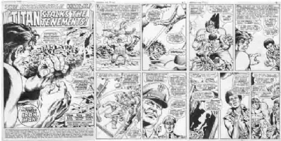TRIMPE, HERB / JOHN SEVERIN - Hulk #131 20 story  Comic Art