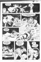 BRIGHT, MARK - Batman #422 pg 14 Robin pimp slap, Comic Art