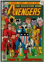 The Avengers - The Celestial War Issue 02 - Cover (Imaginary) Comic Art