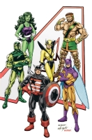 The Avengers - East Coast 4.0 - in Color Comic Art