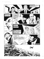 ALAN DAVIS - WARRIOR N�16 MARVELMAN MIRACLEMAN PAGE 3 ( THE APPROACHING LIGHT ) Comic Art