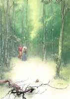 CHARLES VESS - STARDUST BOOK 3: BEING A ROMANCE WITHIN THE REALMS OF FAERIE ILLUSTRATION , Comic Art