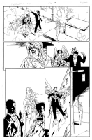 OSCAR JIMENEZ - STORMWATCH VOL2 N�2 PAGE 15 Comic Art