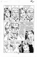 WILL SIMPSON - HELLBLAZER N�46 PAGE 12 (DANGEROUS HABITS: FALLING INTO HELL) Comic Art