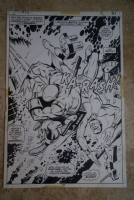 Iron Man #054, Page #27 Splash Comic Art