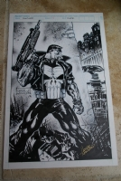 Punisher #81 Cover Comic Art
