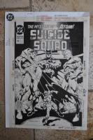 Suicide Squad #59 Cover Comic Art
