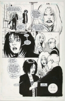 Transmetropolitan issue 29, interior page by Darick Robertson and Rodney Ramos Comic Art