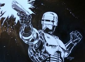 Robocop by Scott Dalrymple Comic Art