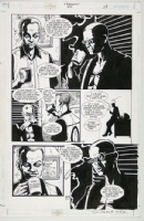 Transmetropolitan issue 40, interior page by Darick Robertson and Rodney Ramos Comic Art