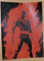 Daredevil by Scott Dalrymple Comic Art
