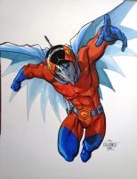 Dirk Daring!  aka Joe Asakura aka Joe the Condor aka Jason (Gatchaman) by Scott Dalrymple Comic Art