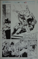 Daredevil issue 291 interior page by Lee Weeks and Fred Fredericks Comic Art